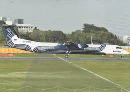 Aurora Bombardier DHC8-400QC  RA-67256 At Narita, Tokyo - 1946-....: Era Moderna
