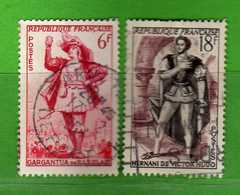 France °- 1953 - Yvert. 943-944 . Obliterer. Vedi Descrizione. - Francia