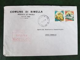 (32251) STORIA POSTALE ITALIA 1990 - 6. 1946-.. Repubblica