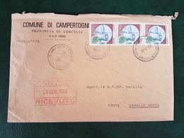 (32252) STORIA POSTALE ITALIA 1990 - 6. 1946-.. Repubblica