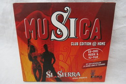 "CD ""Musica Club Edition @ Home"" CD + DVD: Musik & VJ-Film, Si Sierra - Dance, Techno & House"