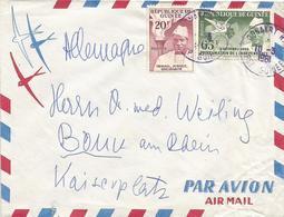 Guinee Guinea 1961 Conakry Independance Dove Pigeon President Ahmed Sékou Touré Cover - Guinee (1958-...)