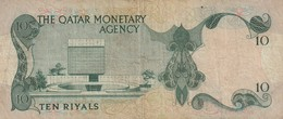 10 Riyals 1973 - Qatar