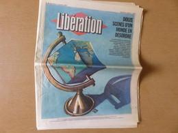 Journal Libération 2 Janvier 1991 - Douze Scènes D'un Monde En Désordre Le Communisme Moribond, Son Empire évanoui, Le - Newspapers