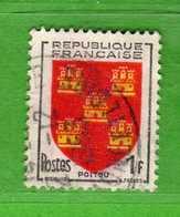 France °- 1953 -   Yvert. 952 . Obliterer. Vedi Descrizione. - Francia