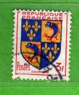 France °- 1953 -   Yvert. 954 . Obliterer. Vedi Descrizione. - Francia