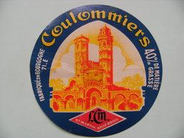 Etiquette Coulommiers - Le Beffroi - L.C.M 71.E à Saint-Martin-Belle-Roche Bourgogne - Saone&Loire  A Voir ! - Quesos