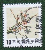 Flower Fleur Bloemen Blume 1984 (Mi 1599  YT 1538) Used Gebruikt Oblitere TAIWAN FORMOSA - 1945-... Republik China