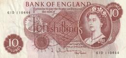 10 Schillings - 1952-… : Elizabeth II