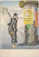 Illustrateur A.M D ARCY Princesse Dollar ( Clochard Publicité SUZE ) - Künstlerkarten