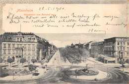 MANNHEIM GERMANY~RINGSTRASSE Vom BAHNHOF~M HEPP PHOTO 1900 POSTMARK POSTCARD 40315 - Mannheim
