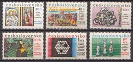 Czechoslovakia MNH Set - 1967 – Montreal (Canada)