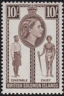 Solomon Islands    .   SG  .   95       .   *     .    Mint-hinged     .   /    .   Ongebruikt - Solomoneilanden (1978-...)