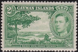 Cayman  Islands    .   SG  .   124      .   *     .    Mint-hinged     .   /    .   Ongebruikt - Kaaiman Eilanden