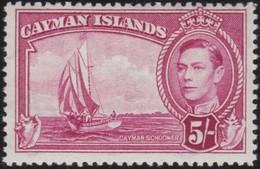 Cayman  Islands    .   SG  .   125      .   *     .    Mint-hinged     .   /    .   Ongebruikt - Kaaiman Eilanden