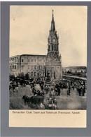 PAKISTAN Karachi Merewether Clock Tower And Moorrum Procession Ca 1920 OLD POSTCARD - Pakistan