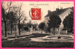 Dole - Place Du Jet D'eau - Fontaine - Edit. Vve KARRER - 1910 - Dole