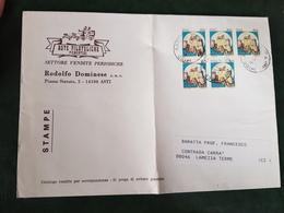 (32258) STORIA POSTALE ITALIA 1984 - 6. 1946-.. Repubblica
