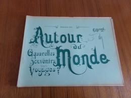 """"""" Autour Du Monde """" Fascicule 13, Aquarelles Souvenirs, Voyages """" Italie Sites Et Paysages """" - Culture"""