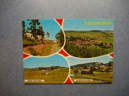 COUCOURON  -  07    -  Multivues  -   ARDECHE - France