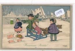 """CPA-19598- Belle Illustration Enfants  """" Heureuse Année"""" Signée Pauli Ebner - Ebner, Pauli"""