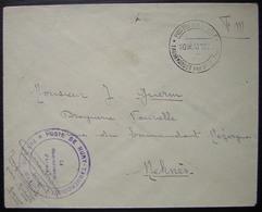Maroc 1932 Poste De Nury Taguendoust Par Rich - Covers & Documents