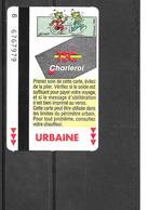 Carte De Transport - TEC - BD Scrameustache - Transport En Commun Belgique - Urbaine - 1996 - Bus