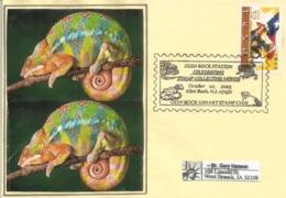 USA. Glen Rock, New Jersey, Enveloppe Souvenir, Année 2003 - Reptiles & Batraciens