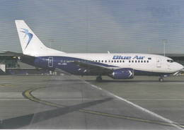 Blue Air B737-500  YR-AMA At Brussels, Belgium - 1946-....: Era Moderna