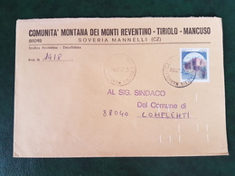 (32273) STORIA POSTALE ITALIA 1984 - 6. 1946-.. Repubblica