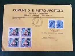 (32274) STORIA POSTALE ITALIA 1984 - 6. 1946-.. Repubblica