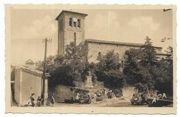 Escoussens Traction Place De L' Eglise - France