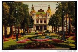 CPA MONTE CARLO N°1404 LES JARDINS ET LE CASINO COLORISEE EDIT LA CIGOGNE NICE - Casino