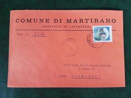 (32276) STORIA POSTALE ITALIA 1984 - 6. 1946-.. Repubblica