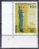 Repubblica Italiana, 2002 - Corpo Forestale Dello Stato - MNH** Nr.2694 - 2001-10:  Nuovi