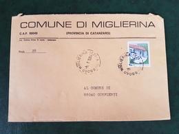 (32280) STORIA POSTALE ITALIA 1984 - 6. 1946-.. Repubblica