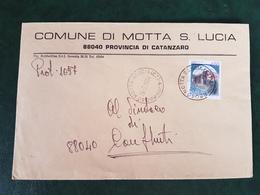 (32281) STORIA POSTALE ITALIA 1984 - 6. 1946-.. Repubblica