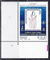 Repubblica Italiana, 2002 - Giornata Mondiale Dell'alimentazione - MNH** Nr.2693 - 2001-10:  Nuovi