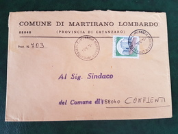 (32282) STORIA POSTALE ITALIA 1984 - 6. 1946-.. Repubblica