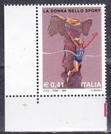 Repubblica Italiana, 2002 - La Donna Nello Sport - MNH** Nr.2699 - 2001-10:  Nuovi