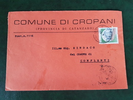 (32285) STORIA POSTALE ITALIA 1984 - 6. 1946-.. Repubblica