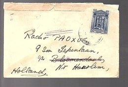 1933 Trans Jordan To Radio PAOXUF Iepenlaan Bloemendaal (140) - Jordanie