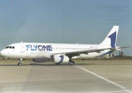 Flyone Airbus A320-200  ER-00001 At AYT - FLY One - 1946-....: Era Moderna