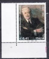 Repubblica Italiana, 2002 - Vittorio Emanuele Orlando - MNH** Nr.2703 - 2001-10:  Nuovi