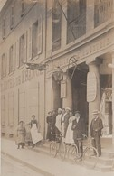 85 FONTENAY LE COMTE CARTE PHOTO HOTEL DE FRANCE ET PASSAGE DE L'INDUSTRIE - Fontenay Le Comte