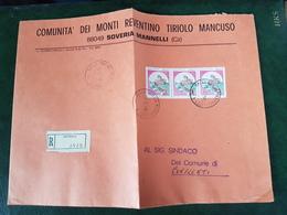 (32292) STORIA POSTALE ITALIA 1984 - 6. 1946-.. Repubblica