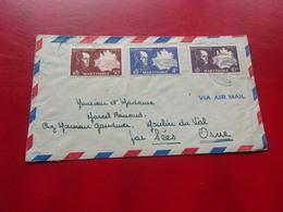 MARTINIQUE (1947) Lettre FORT DE FRANCE A SEES - Martinica (1886-1947)