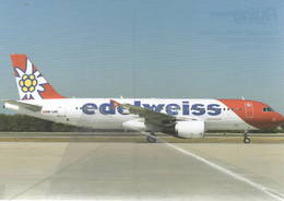 EdelWeiss Airlines A320-200  HB-IJW At AYT Turkey - 1946-....: Era Moderna