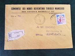(32295) STORIA POSTALE ITALIA 1984 - 6. 1946-.. Repubblica