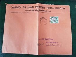 (32296) STORIA POSTALE ITALIA 1984 - 6. 1946-.. Repubblica